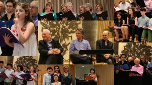 Celebration of Spring 2016, works by Dawes, Thomson and Chilcott with a post concert Q&A with two of the composers and one of the libretist of Thomson's 'Bee Cantata'.
